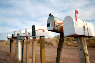 Mail while traveling