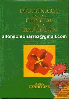DICCIONARIO DE CIENCIAS DE LA EDUCACIÓN