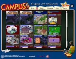 Campus Student Life Simulation