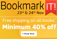Flipkart BookMark It Sale : Books Minimum 40% off : Buytoearn