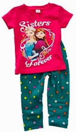 RM25 - Set 2pcs Frozen Girl