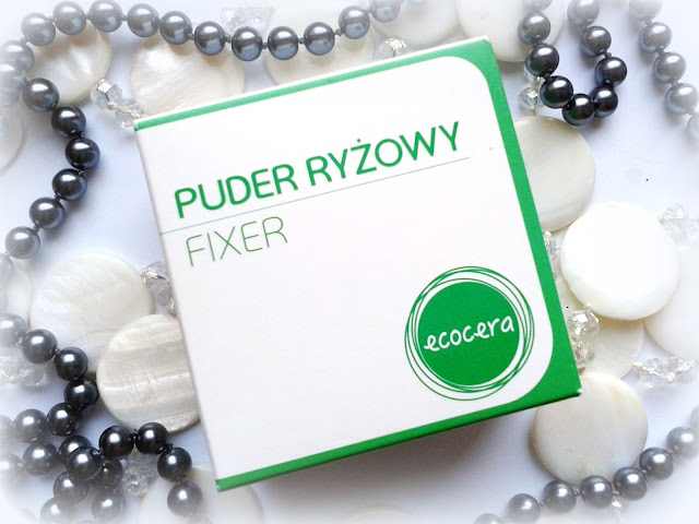 Puder ryżowy fixer ECOCERA
