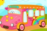 Yeni Aldığımız Otobüs Dekorasyon Oyunu