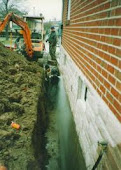 Toronto Foundation Excavation Waterproofing Repair 1-800-NO-LEAKS