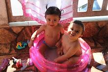 Laurinha e Miguelzinho