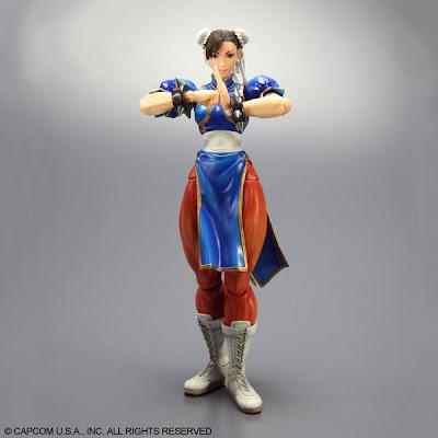 Super Street Fighter 4 Play Arts Kai - Chun Li
