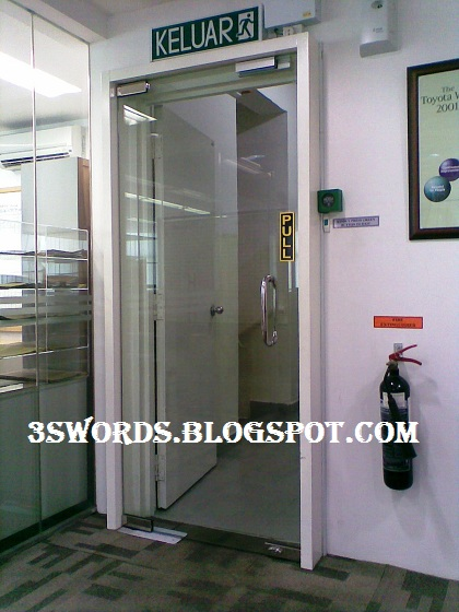 Tempered Glass Door As Additional Security Door