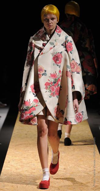 Geniş Palto 2012-2013 Sonbahar Kış Trendleri