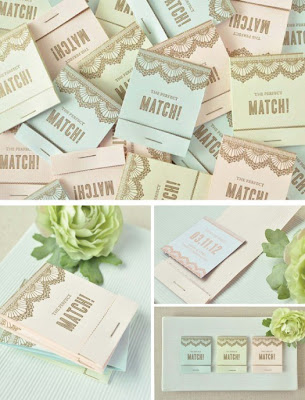 creative+save+the+date+ideas+matches Wedding Inspiration: Creative Save the Dates {Round 2}