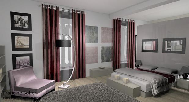Meilleurs conceptions d 39 int rieur de chambre principale d cor de maison d coration chambre - Chambre parentale romantique ...