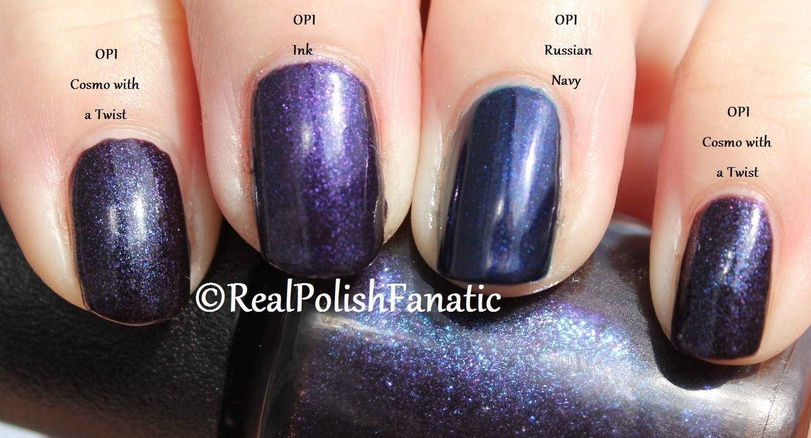 OPI Russian Navy – Swatch & Review – Helpless Whilst Drying