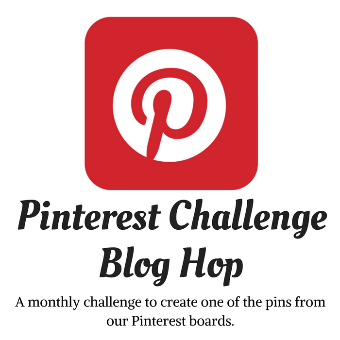 Pinterest Monthly Challenge