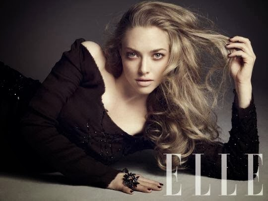 Magazine Photoshoot : Amanda Seyfried Photoshot For Elle Magazine Korea January 2014 Issue