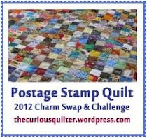 Postage Stamp Charm Swap