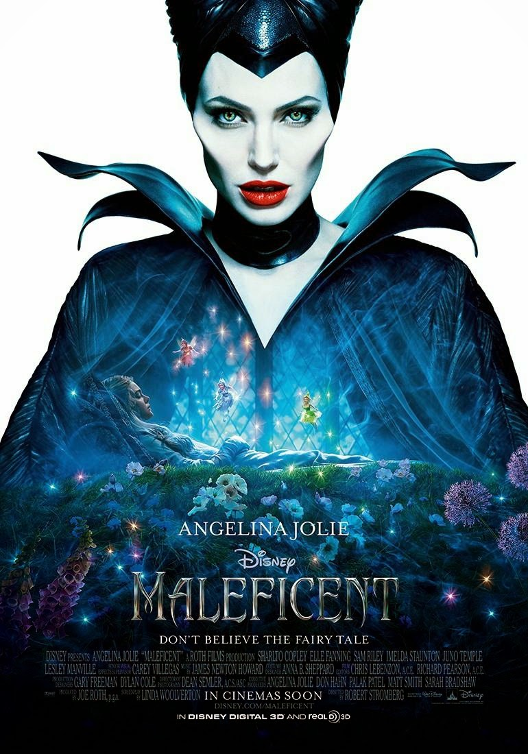 "Pelicula ""Malefica"" - ""Maleficent"""