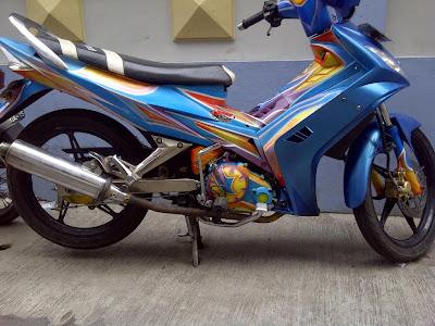 Yamaha jupiter mx airbrush