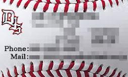 デザイン名刺 野球バージョン