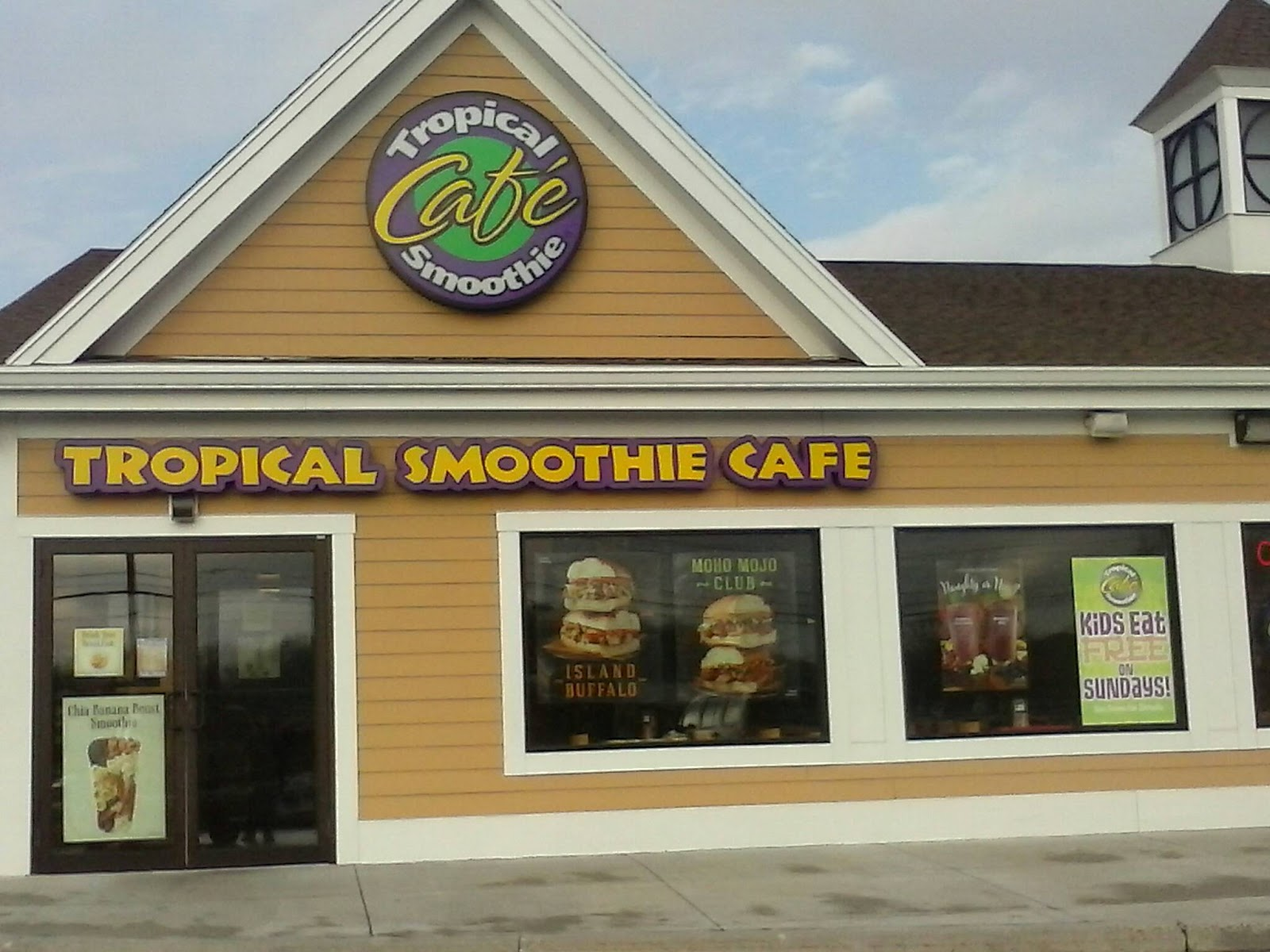 my opinion with it being cold outside having a warm hearty sandwich is awesome i enjoyed the flavors on the moho mojo chicken club and the island buffalo - Tropical Cafe 2015
