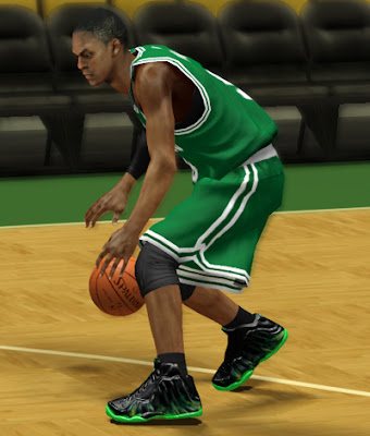 NBA 2K13 Nike Custom Shoes - ParaNorman