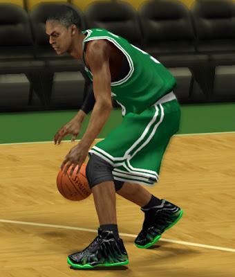 NBA 2K13 Nike Custom Shoes - ParaNorman