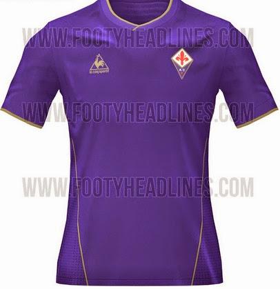 Jersey Fiorentina Home terbaru 2015-2016