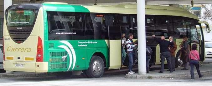 Horarios Autobuses Sevilla-Las Pajanosas