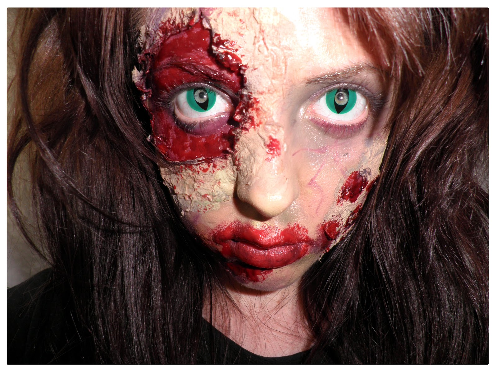 Halloween Makeup Ideas With Contacts | Smock To Frock