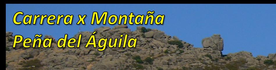 Carrera x Montaña Peña del Águila