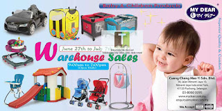 My Dear Baby & Children Products Warehouse Sale 2013
