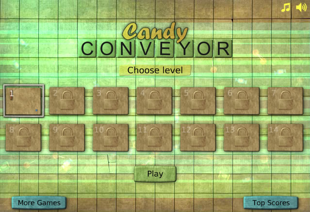 Unblocked Game : Candy Conveyer