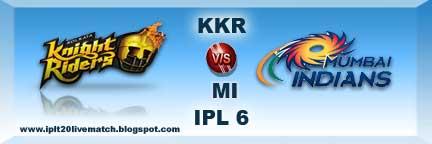 kkr vs mi watch full highlight match video and kkr vs mi scorecards