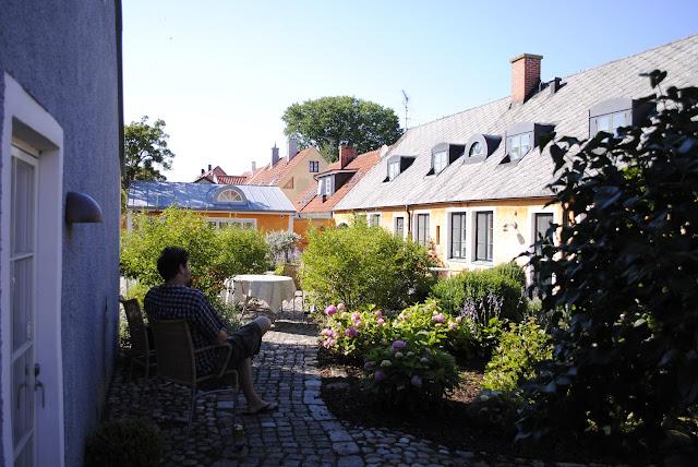 Garden Courtyard, Simisrahamn Sweden