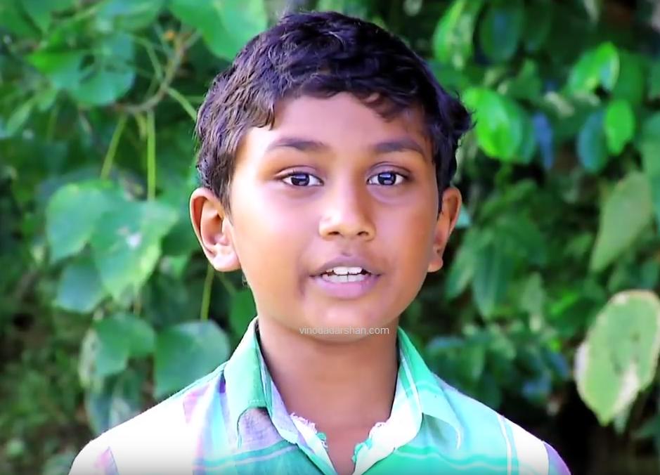 Saharsh as Manikuttan in Manjurukum Kaalam Serial