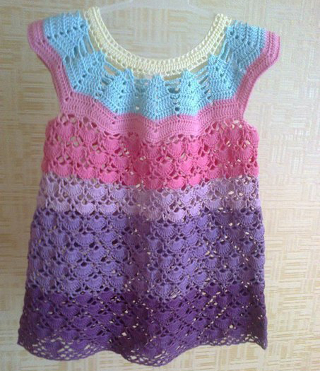 Sarafanchik Little Girl Dress
