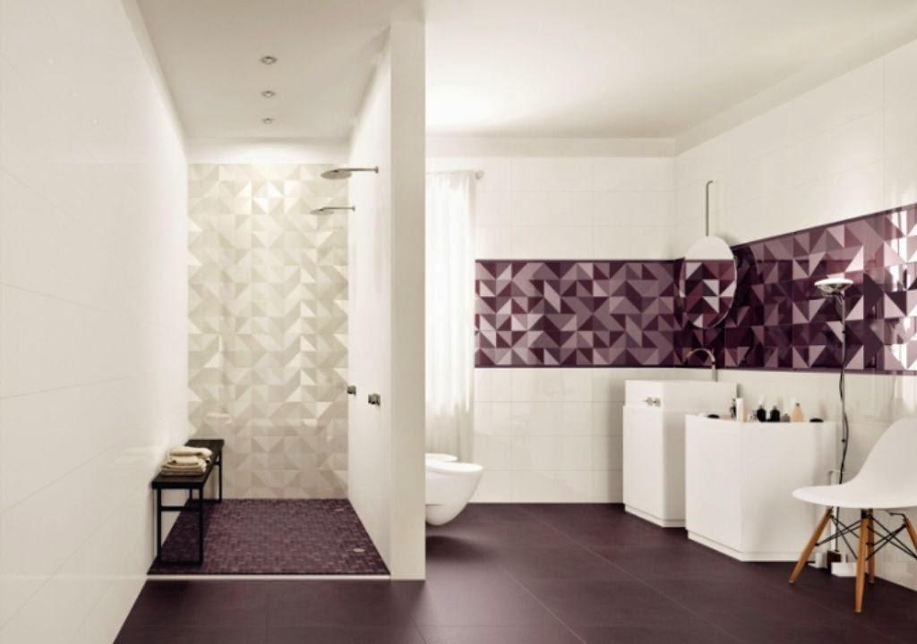 Minimalist Tile Floor Designs bathroom