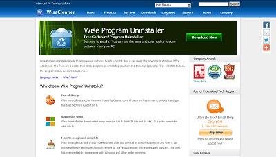 Wise Program Uninstaller, Uninstaller