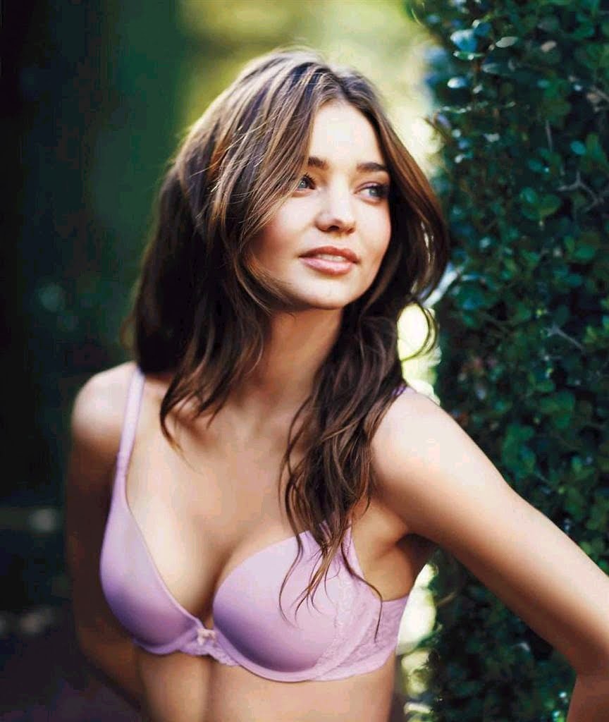 Miranda Kerr swaps lacy Victoria's Secret lingerie for Calvin Kleins
