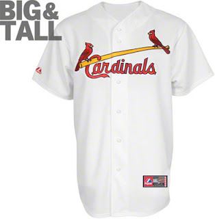 Big and Tall St. Louis Cardinals Home Jersey
