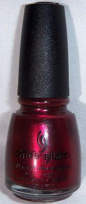 China Glaze Thunderbird Swatch - Bottle