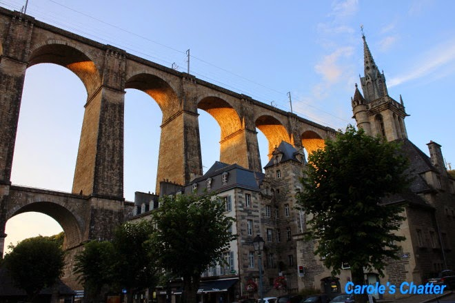 The Viaduct, Morlaix by Carole's Chatter