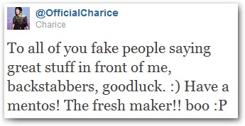 charice pempengco delete facebook account