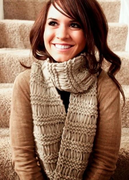 вязанные шарфы женские крючком