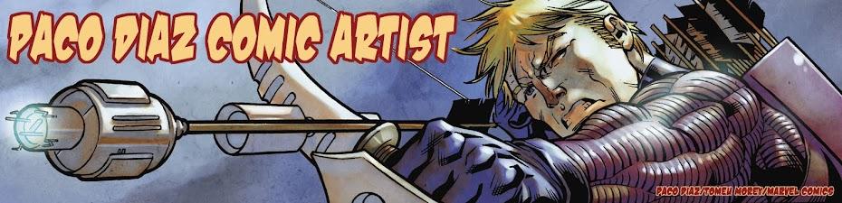 Paco Díaz Comic Artist