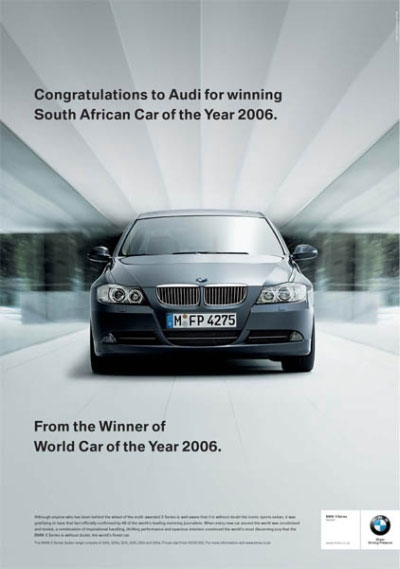 Article V AudiBMWSubaru Ad War Kunapuli Pranav AP Language - What car is better audi or bmw