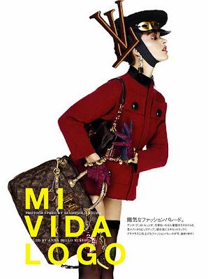 Livin la Vida Logo with Vogue Japan