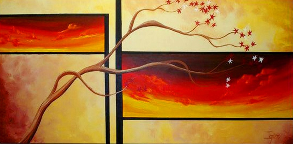 Pintura moderna y fotograf a art stica cuadros minimalistas for Imagenes de cuadros abstractos faciles de hacer