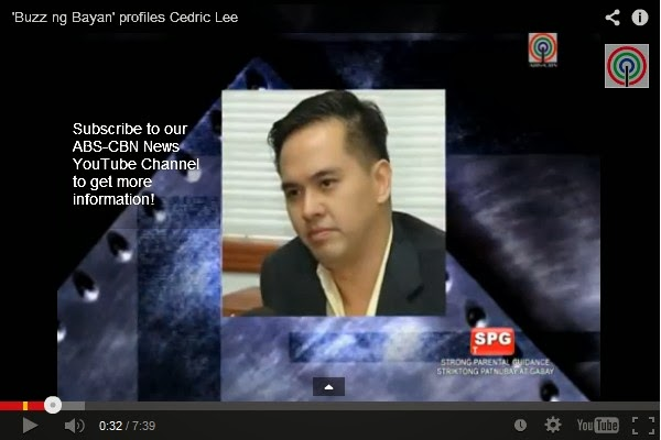 Know more about Cedric Cua Lee