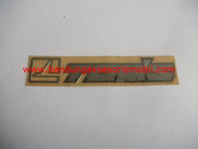 Emblem Alumunium 3M Kecil 1 Pcs Toms
