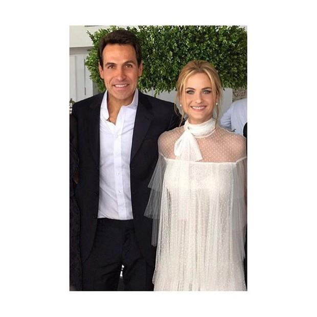 Luiza Valdetaro com o marido, Mariano Marcondez Ferraz (Foto: Reprodução/ Instagram)