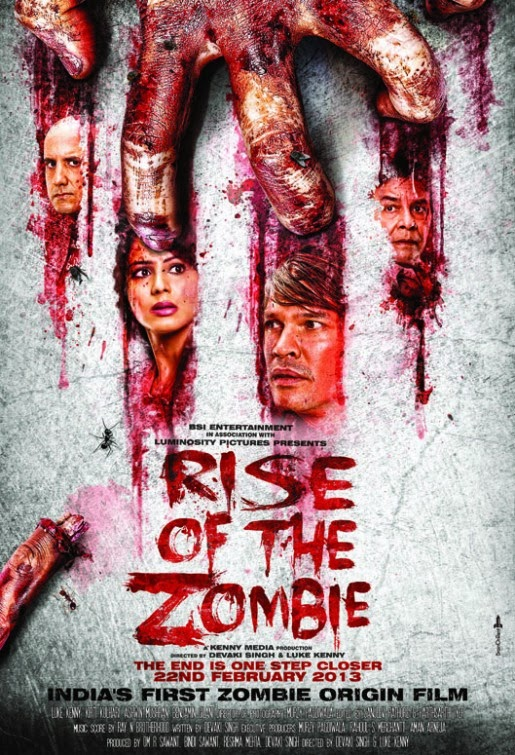 Watch Rise of the Zombie (2013) DVDRip Hindi Horror Full Movie Watch Online For Free Download